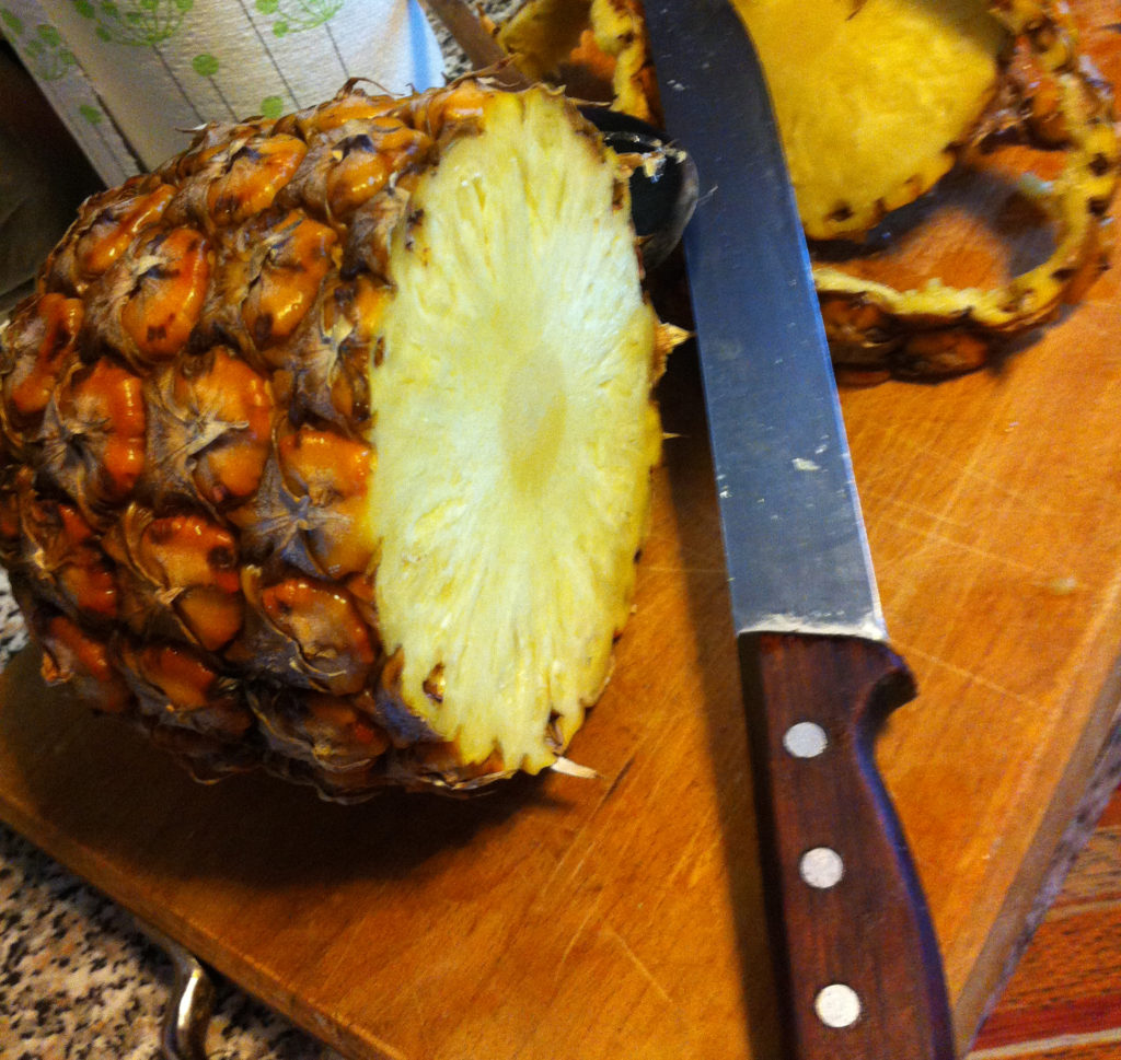 Una succosa ananas