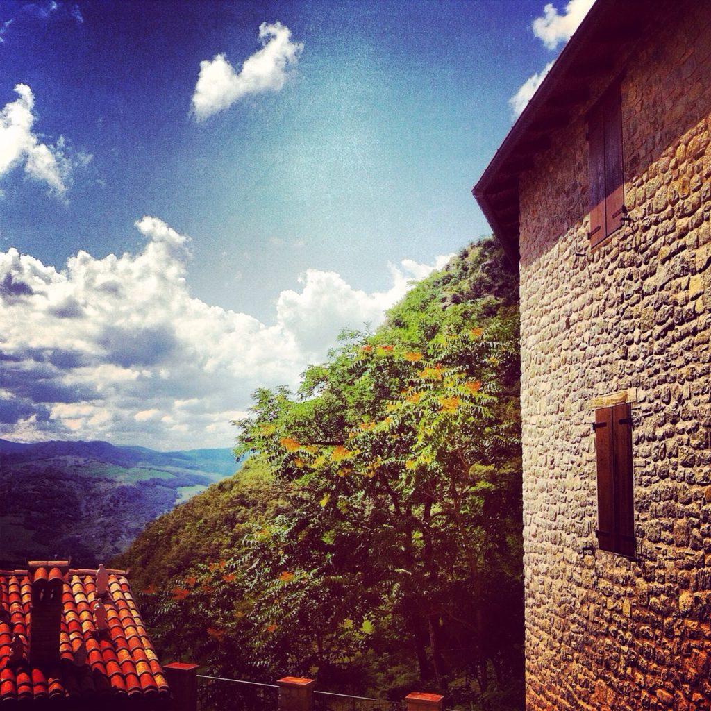 Una foto del Cimone da Montalbano di Zocca, Modena